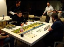 Auch Brett- und Taktikspiele wurden angeboten